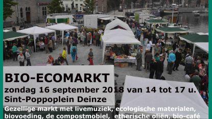 Groen Deinze organiseert bio-ecomarkt