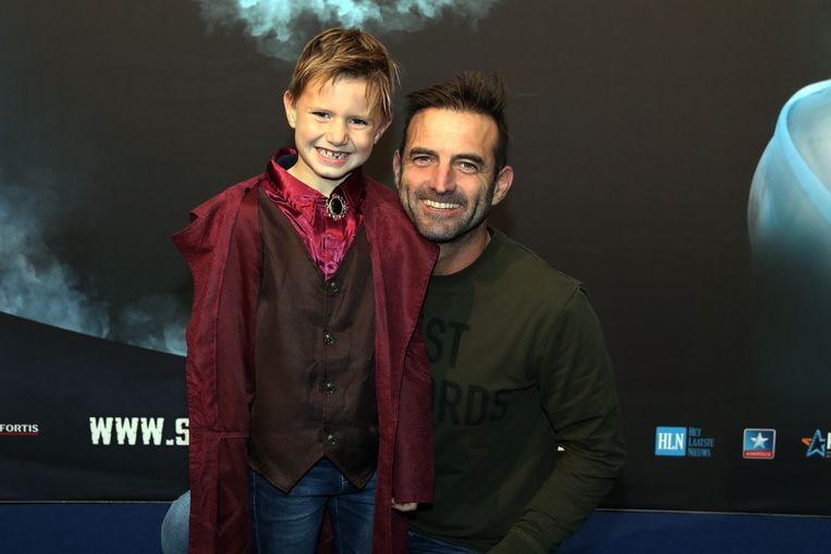 Gunther Levi en zoon Otis.