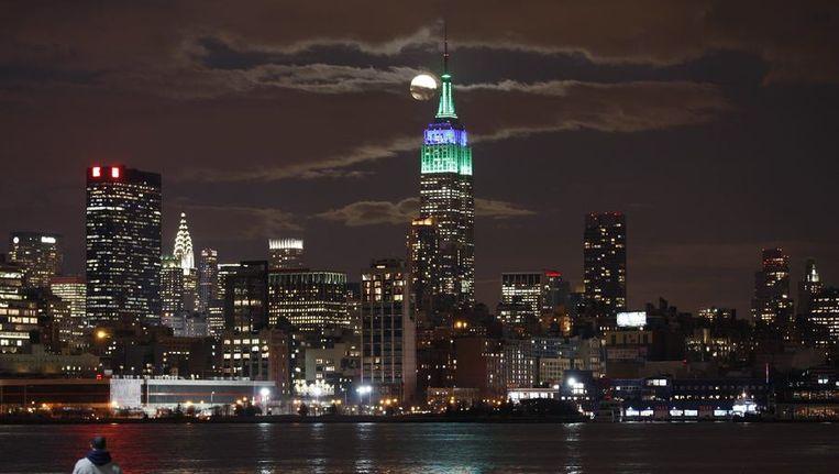 De lichten van de Empire State building zullen zaterdag een uur lang niet branden. Beeld reuters