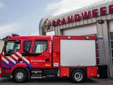 Burgerbrandweer helpt defensie op oefenterrein