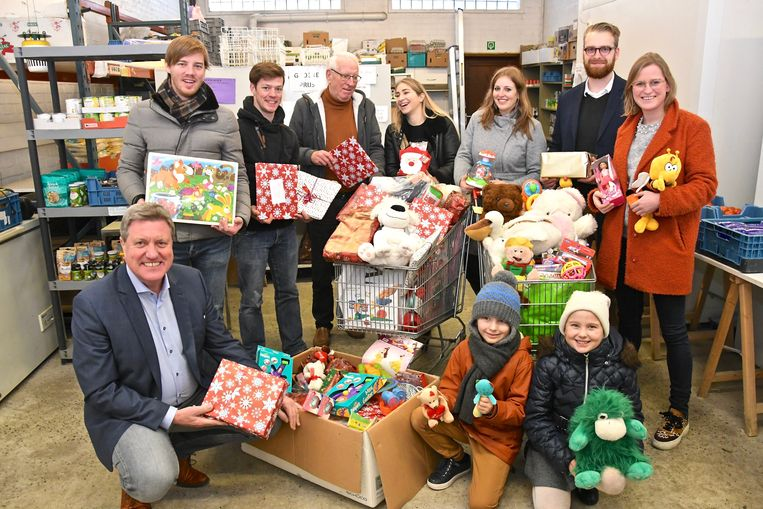 De Roeselarenaars steunden massaal de actie 'Iedereen Kerstman'.