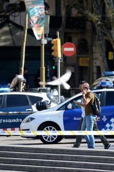 Eerste beelden van aanslag in Barcelona