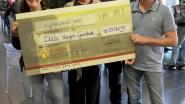 Motorrit Dolle Dagen Gaasbeek brengt 500 euro op voor vzw Zonnestraal