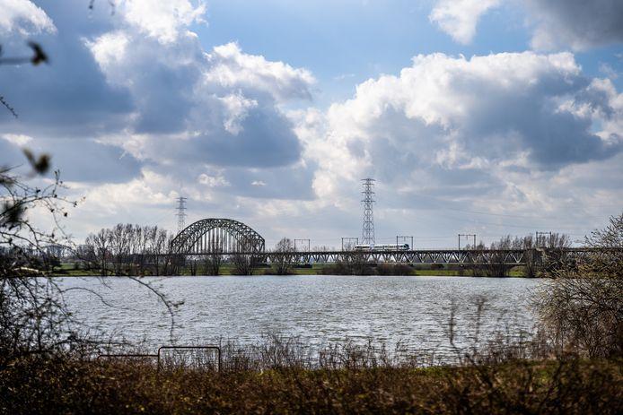 rosandepolder en het grindgat Arnhem/Oosterbeek.