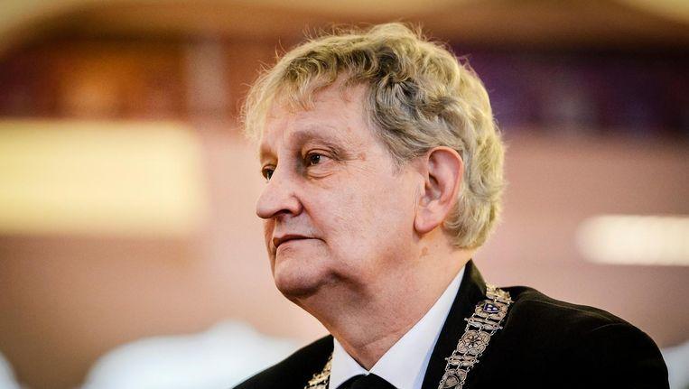 Eberhard van der Laan, burgemeester van Amsterdam, is te gast bij Zomergasten Beeld anp