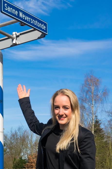 Rotonde voor Olympisch kampioene Sanne Wevers
