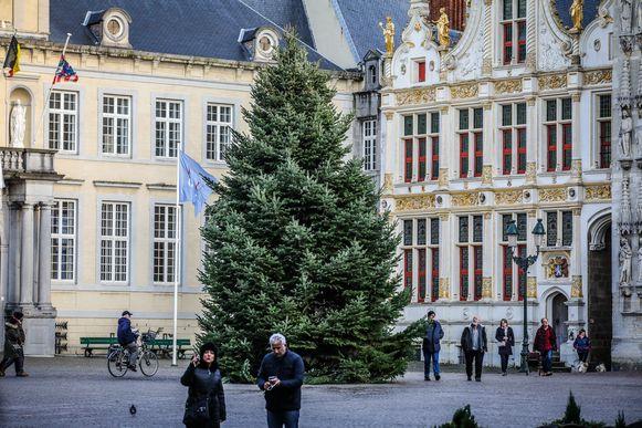 De Burg in Brugge.