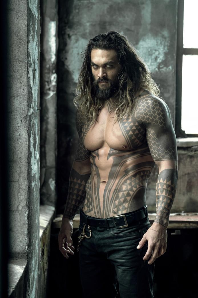 Jason Momoa als Aquaman.