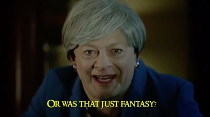 """Was that the right deal or was that just fantasy?"" Gollum-acteur Andy Serkis haalt zijn Theresa May-imitatie nog eens boven"