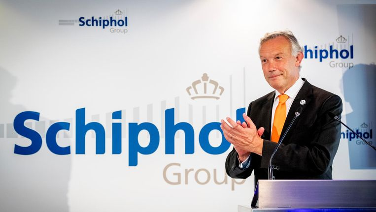 Schipholtopman Jos Nijhuis. Beeld anp