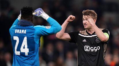 """Ajax-kapitein De Ligt: """"In Nederland werd gedaan alsof we zo over Tottenham heen gingen lopen, maar we wisten wel beter"""""""