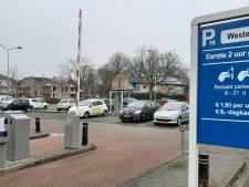 Storing in parkeersysteem Harderwijk door lekkage