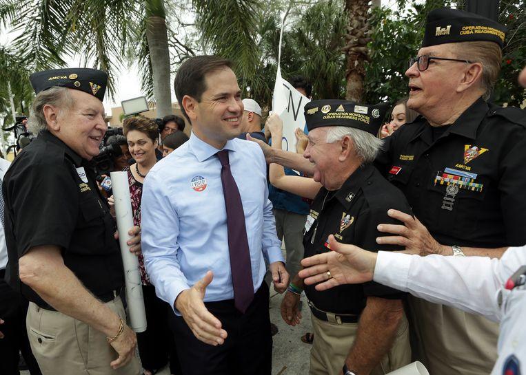 Marco Rubio is bijna zeker van een plaats in de Senaat.