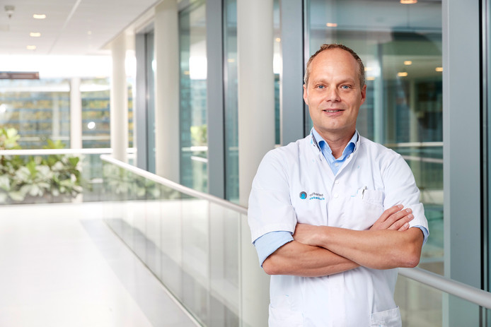 Oncoloog Ignace de Hingh.
