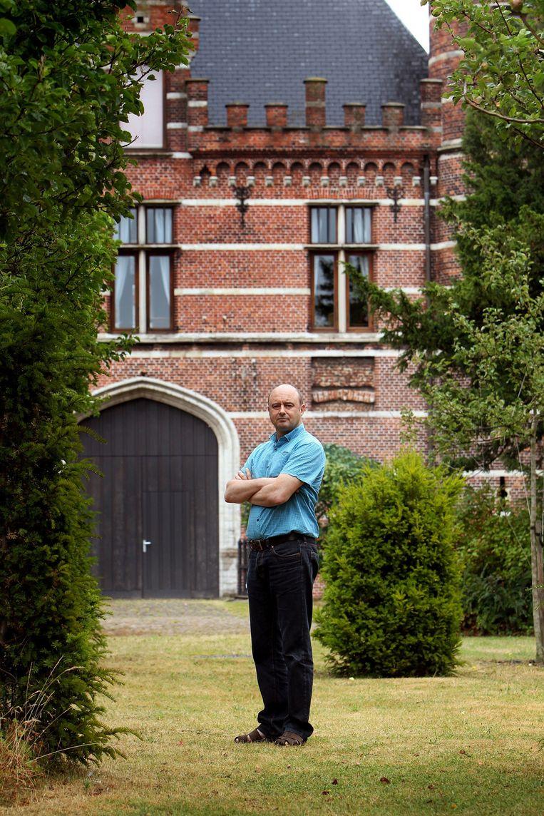 Bruno De Wever kreeg, net als zijn broer Bart, het extreem-rechtse Vlaamse nationalisme met de paplepel ingegoten. Beeld Bart van der Moeren