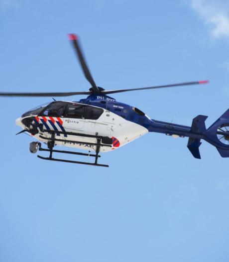 Politieheli zocht in Wageningen mee naar verdacht duo bij garage
