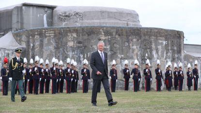 """Koning in Breendonk: """"Hier zien we waar haat toe leidt"""""""