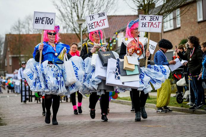 Ook Noord Deurningen heeft blijkbaar te maken met slachtoffers van '#MeToo'.