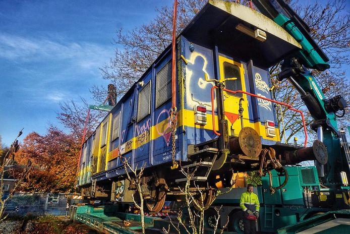 De treinwagon uit Austerlitz