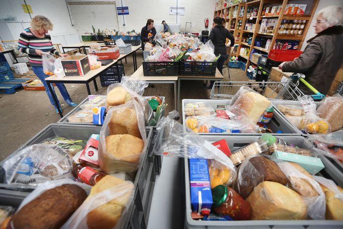 Archieffoto van de Voedselbank in Etten-Leur