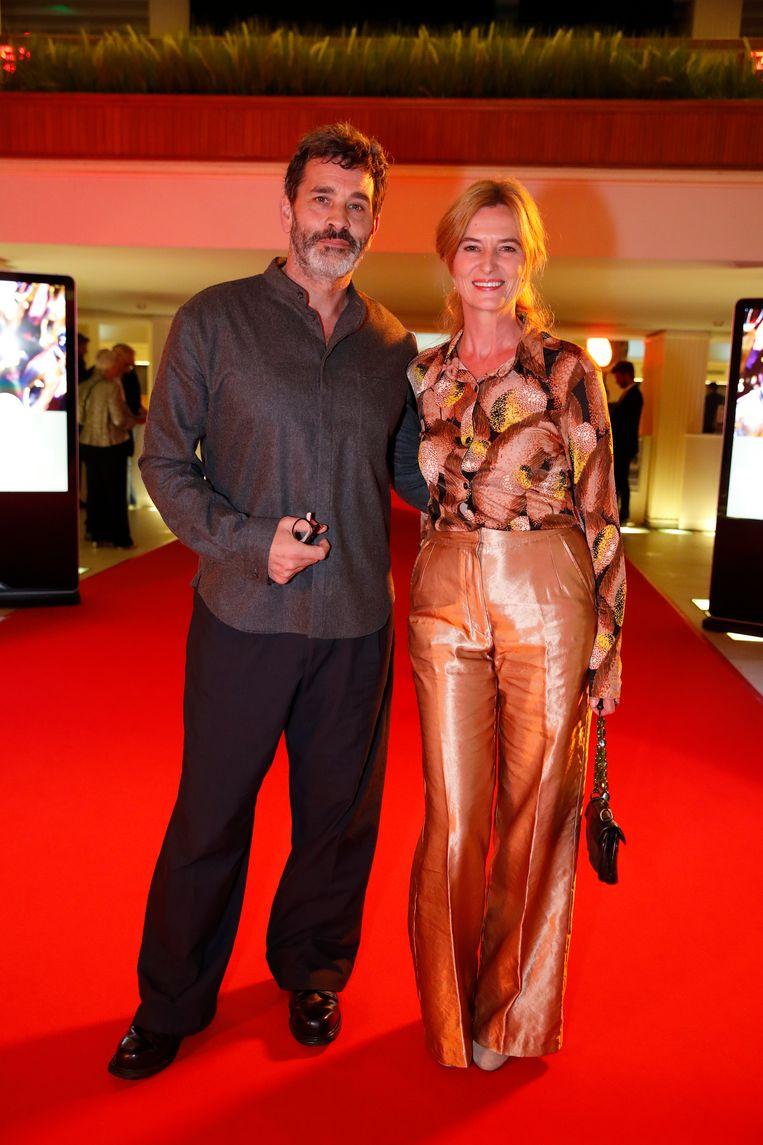 Koen De Bouw en echtgenote Chantal.
