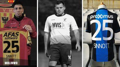 'Sinnott 25': na Engelse (top)clubs doneren ook Malinwa en Club Brugge shirt ter ere van vermoorde voetballer