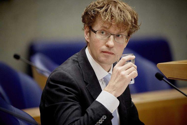 Staatssecretaris van Onderwijs, Cultuur en Wetenschap Sander Dekker. Beeld anp