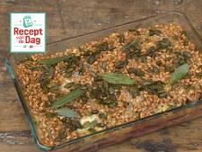 Recept van de dag: Bietenschotel met peer en gorgonzola