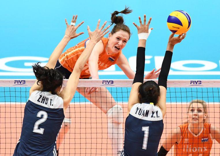Gelatenheid bij volleybalsters na mislopen brons