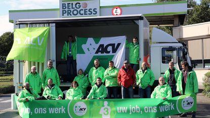 Personeel Belgoprocess legt werk neer