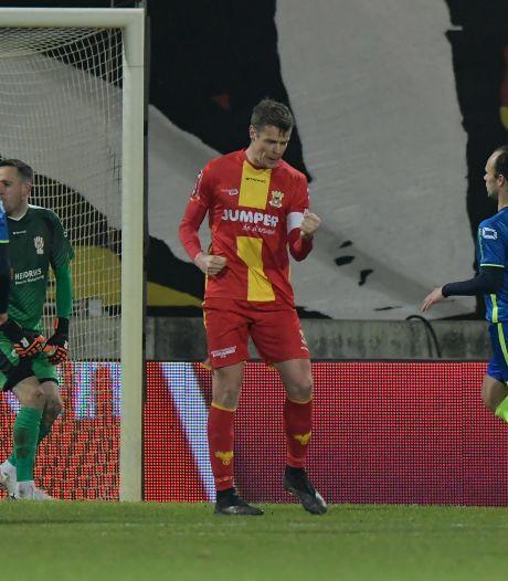 Matchwinner Veldmate maalt niet om 'wegzappers' bij GA Eagles - TOP Oss