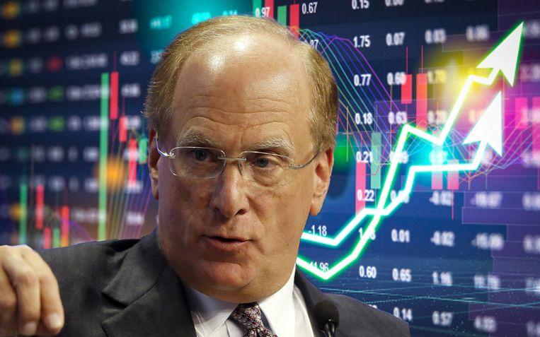 """""""Niet aarzelen. Kopen"""", zegt Larry Fink, die een portefeuille van 6.500 miljard dollar beheert."""