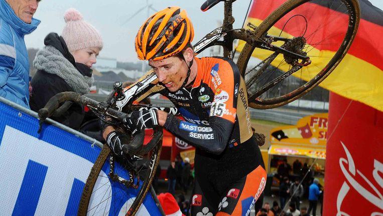 Jens Adams had zijn zinnen gezet op een prima prestatie in Loenhout, maar moet dus ziek afhaken.