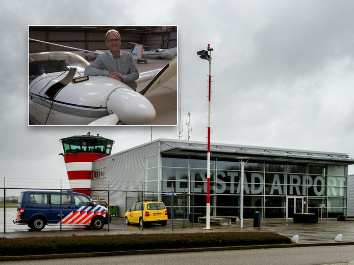 Hadriaan van Nes en Airport Lelystad