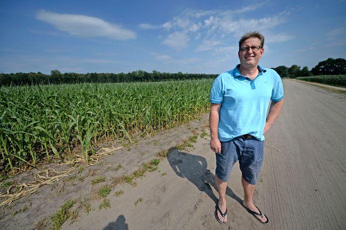 Buurtbewoner Patrick Achterhuis betoogde woensdag bij de Raad van State waarom hij en andere omwonenden tegen de komst van een zonnepark aan de Drielandweg zijn.
