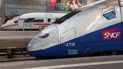 """TGV tussen Parijs en Nice geraakt door kogel: sprake van """"kwaad opzet"""""""