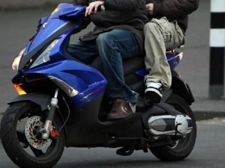 Vieze scooter via 'verleiding' uit centrum Apeldoorn