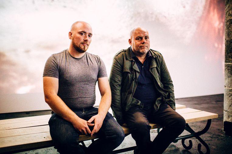 Aaron en Michel van Ghent in Motion.