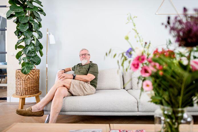 """Het leven van Rijssenaar Koos van der Burgh hing drie jaar geleden aan een zijden draadje. """"Gelukkig heeft mijn vrouw Willy zich in die tijd ook vast kunnen houden aan de gedachte: Hoop doet Leven."""""""