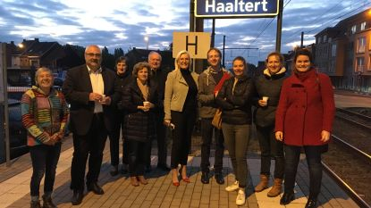 Pendelend Haaltert vraagt snellere en frequentere verbindingen naar Brussel en Gent en een aansluiting trein/bus 87