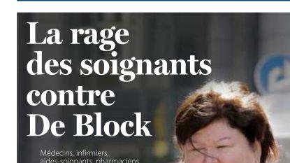 """""""In nieuwe regering wellicht geen plaats voor Maggie De Block"""": minister onder vuur in Wallonië"""