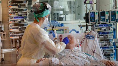 OVERZICHT. Aantal ziekenhuisopnames blijft dalen en zakte voorbije week met 6 procent per dag