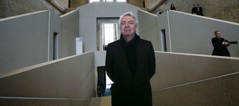 De Britse architect David Chipperfield ontwierp het Neues Museum in Berlijn. Beeld ap