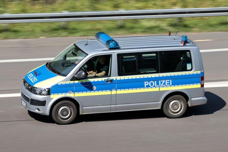 De Duitse politie voerde aan de grens met Luxemburg controles uit in het kader van de coronacrisis.