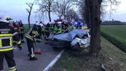 18-jarige zwaargewond na crash