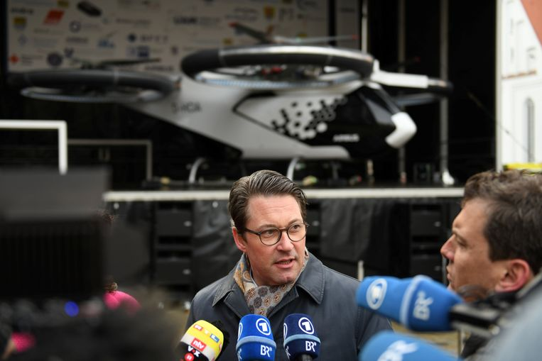 Duitse minister van Transport, Andreas Scheuer.