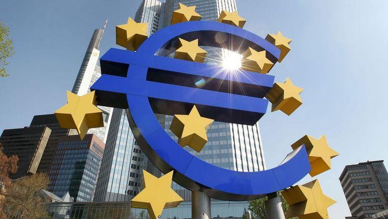De Europese Centrale Bank in Frankfurt. Beeld afp