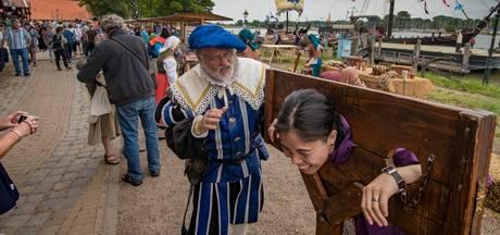 'Geweldige Hanzedagen' vindt organisator Niek van der Sprong