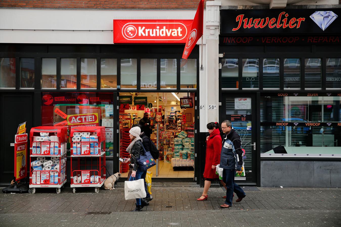 Een willekeurige Kruidvat. Dit is niet de winkel in Rijssen.