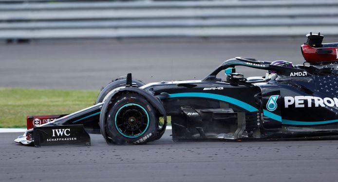 De lekker band van Lewis Hamilton.